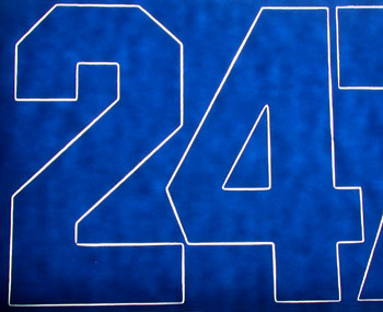 NUMBERS BLUE 3 (Part # COVQ3246)
