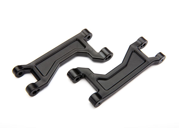TRA8929 Suspension arms, upper, black (left or right, front or rear) (2)