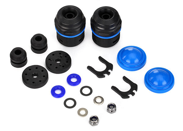 7762 Rebuild kit, GTX shocks (lower cartridge, assembled, pistons, piston nuts, bladders) (renews 2 shocks)