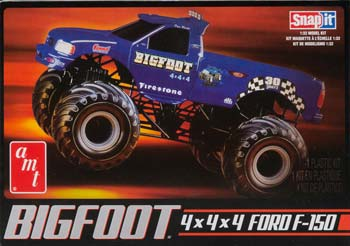 AMT805/12 1/32 Big Foot Monster Truck Snap (Part # AMTS0805)