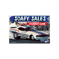 1/25 Soapy Sales Challenger Funny Car (Part # MPC831)