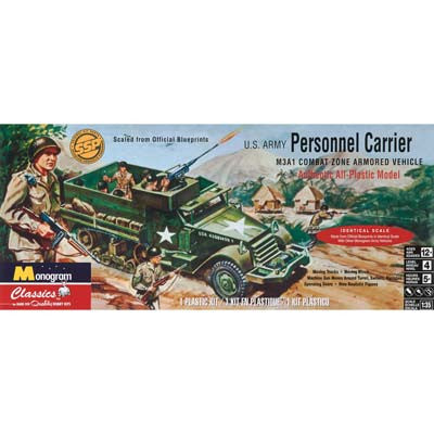 850035 1/35 Personal Carrier Half Track (PART# MONS0035)