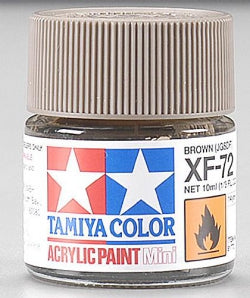 Acrylix Mini XF72, Brown 10 ml.