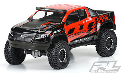 "PRO351700 Chevy Colorado ZR2 Clear Body 12.3"" WB Crawlers"