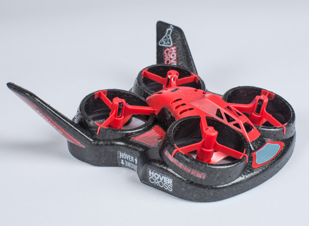 FHT1000 HoverCross Drone/Hovercraft, RTF, Red