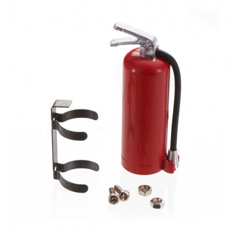INTC25763 1/10 Fire Extinguisher w/Mount Off-Road