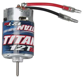 Motor, 550 Titan, 12Turn (PART# TRA3785)
