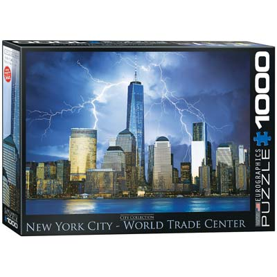 6000-0731 New York City Freedom Tower 1000pcs (PART# ERGY0731)