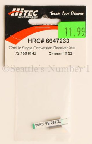 AM/FM SINGLE CONV RX CRYSTAL_72 (Part # HRC6647233)
