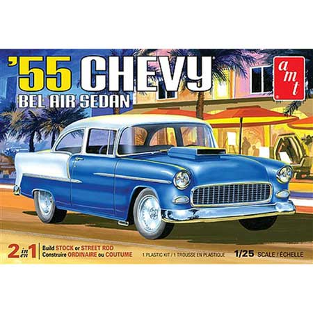 AMT1119 1/25 1955 Chevy Bel Air Sedan