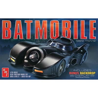 1/25, 1989 Batmobile (Part # AMT935)