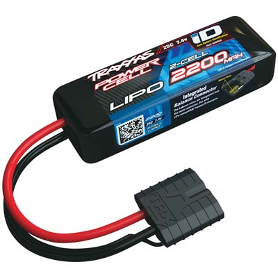 ID Power Cell 25C 7.4V 2200mAh Lipo Battery (Part # TRA2820X)