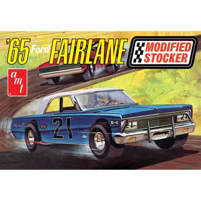 AMT1190 1/25 65 Ford Fairlane Mod Stocker