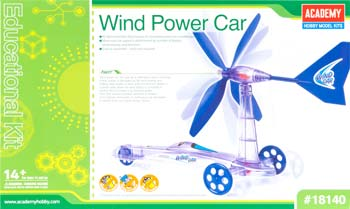 Wind Powered Car Educational Kit (PART# ACYX8140)