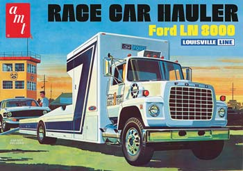 1/25 Ford LN 8000 Race Car Hauler (PART# AMT758/06 )