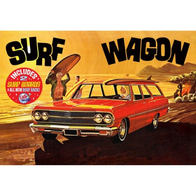 AMT1131 1/25 '65 Chevelle Surf Wagon