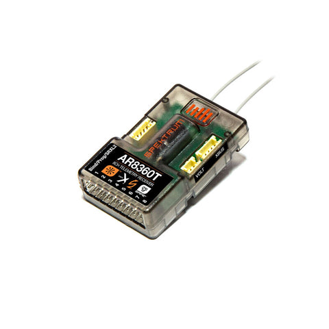 AR8360T DSMX 8-Channel AS3X & SAFE Telemetry Receiver