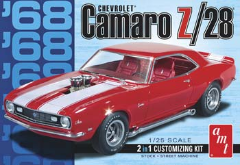 1/25 1968 Camaro Z/28 (PART# AMT868)