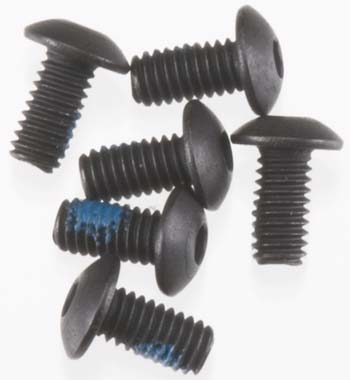 Screws 2.5x 5mm  BUTTON HEAD VXL (Part # TRA3347)