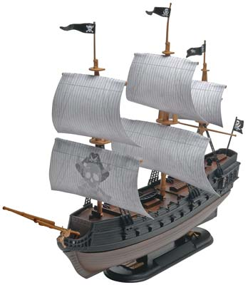 851971 1/350 Snap Pirate Ship Black Diamond (Part # RMXS1971)