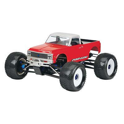 72 Chevy C10 Pick-Up Body, Clear: TMX, EMX, Revo