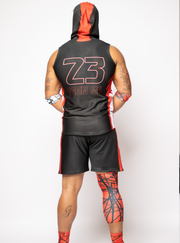 MG 4'S ATH Fit Sleeveless Hoodie Set