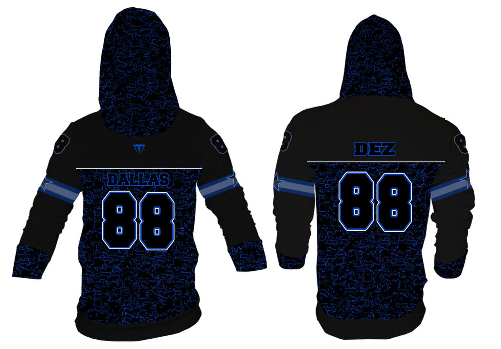 MG Dez Dallas Football Jersey Hoodie