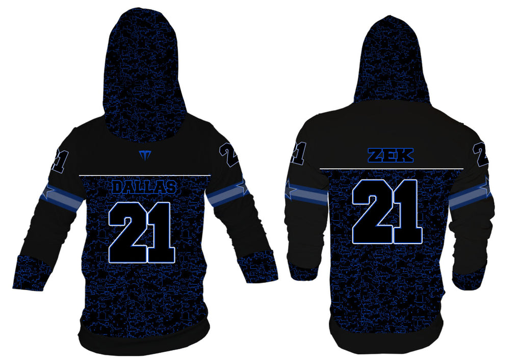 MG Zek Dallas Football Jersey Hoodie
