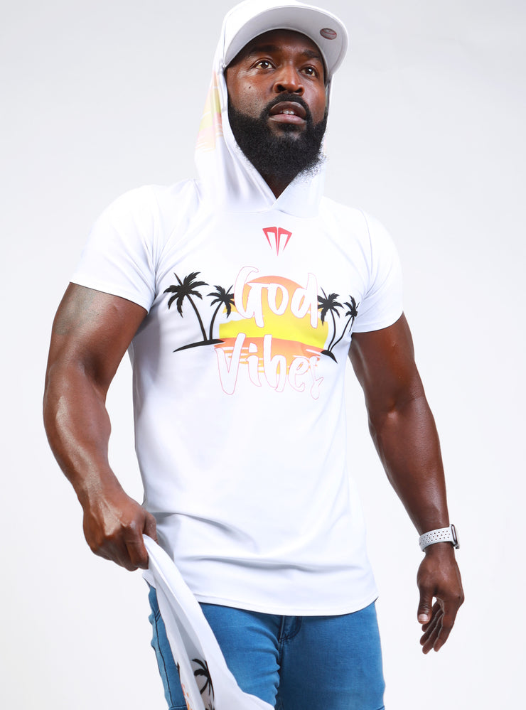 MG God Vibes Beach Short Sleeve Hoodie
