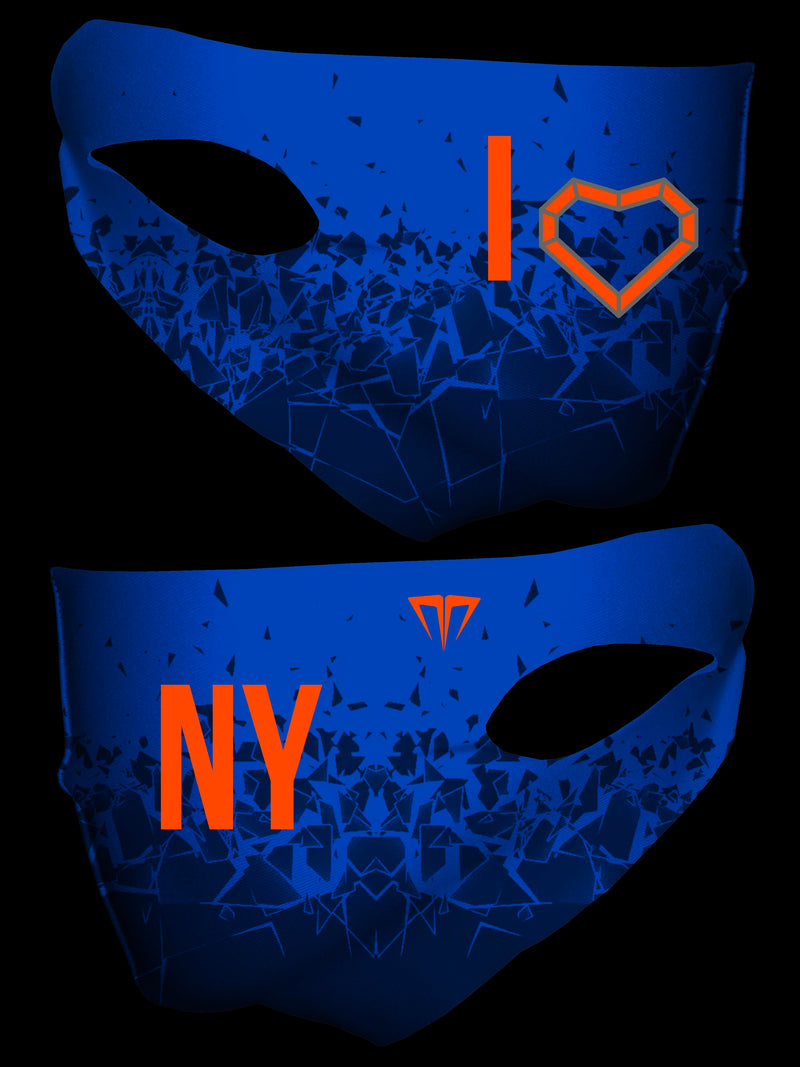 MG I Love NY Double Layer Face Cover