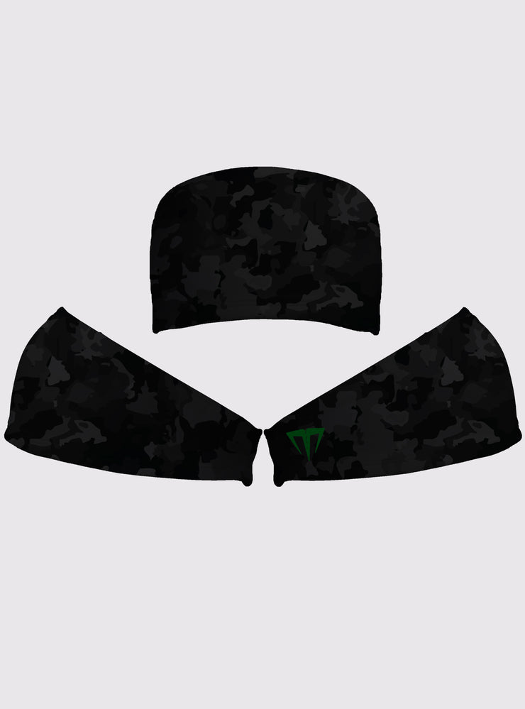 MG Custom Dark Camo Extended Headband