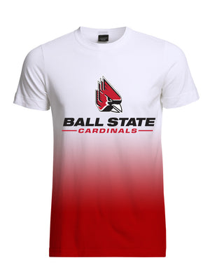 Ball State Red Fade Tee