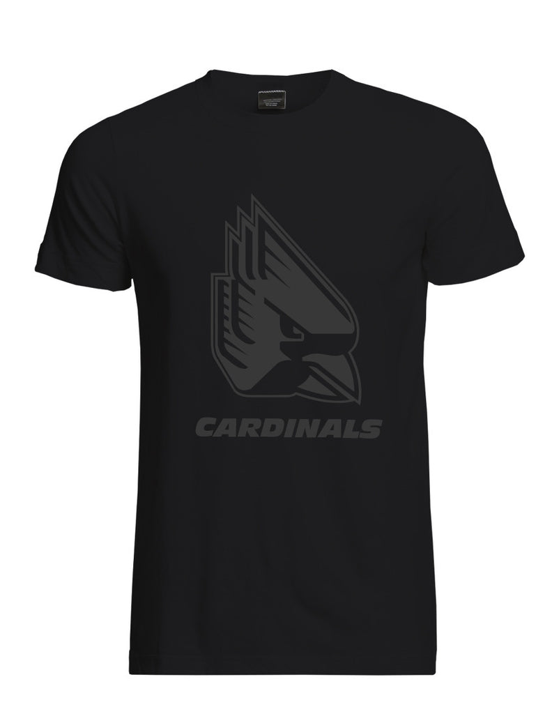Ball State Black Logo Tee