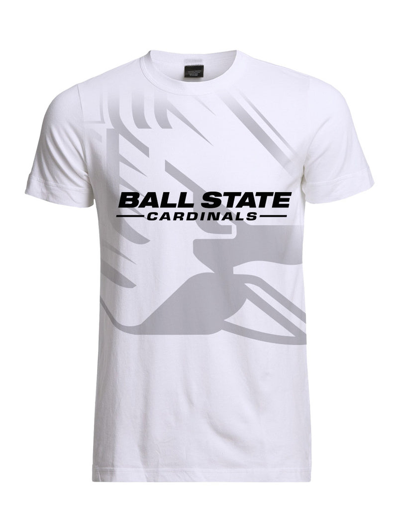Ball State Big Face Logo Tee