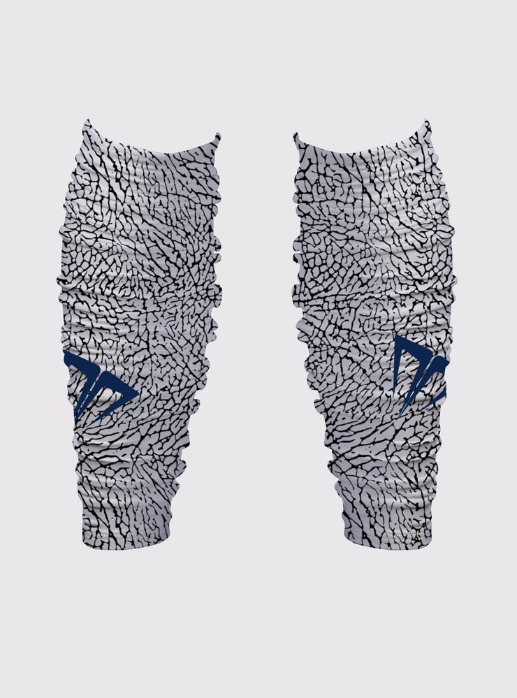 MG Elephant Print Bunch Leg Sleeves
