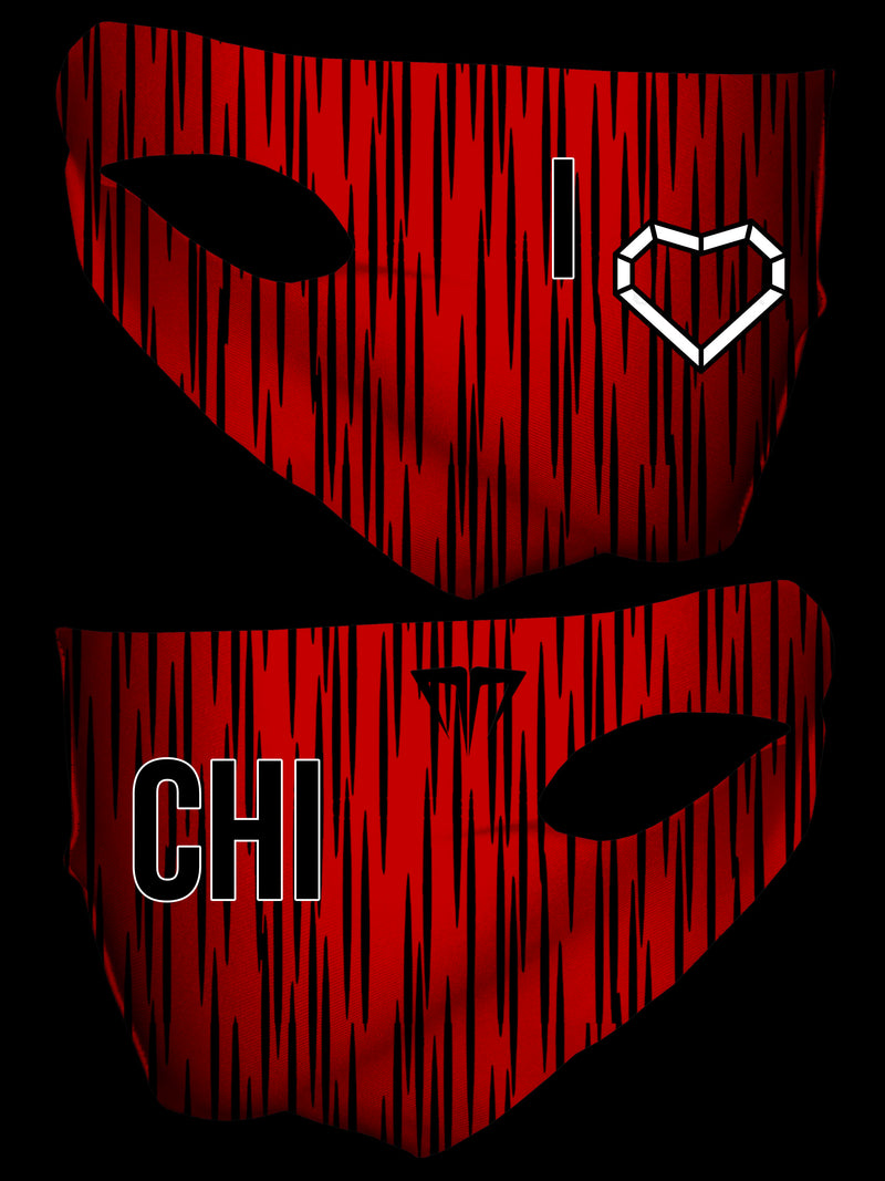 MG I Love CHI  Double Layer Face Cover