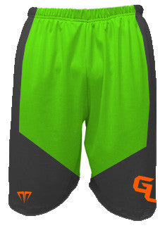 GU Smoke/ Lime Shorts