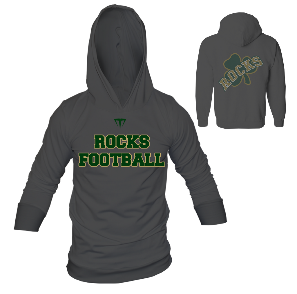 MG Rocks Custom Long Sleeve Hoodie