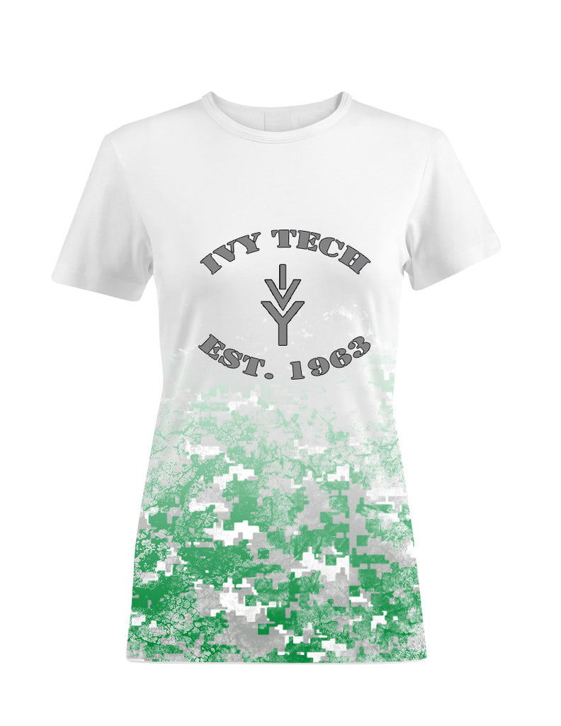 Ivy Tech Women's Digital Camo Tee