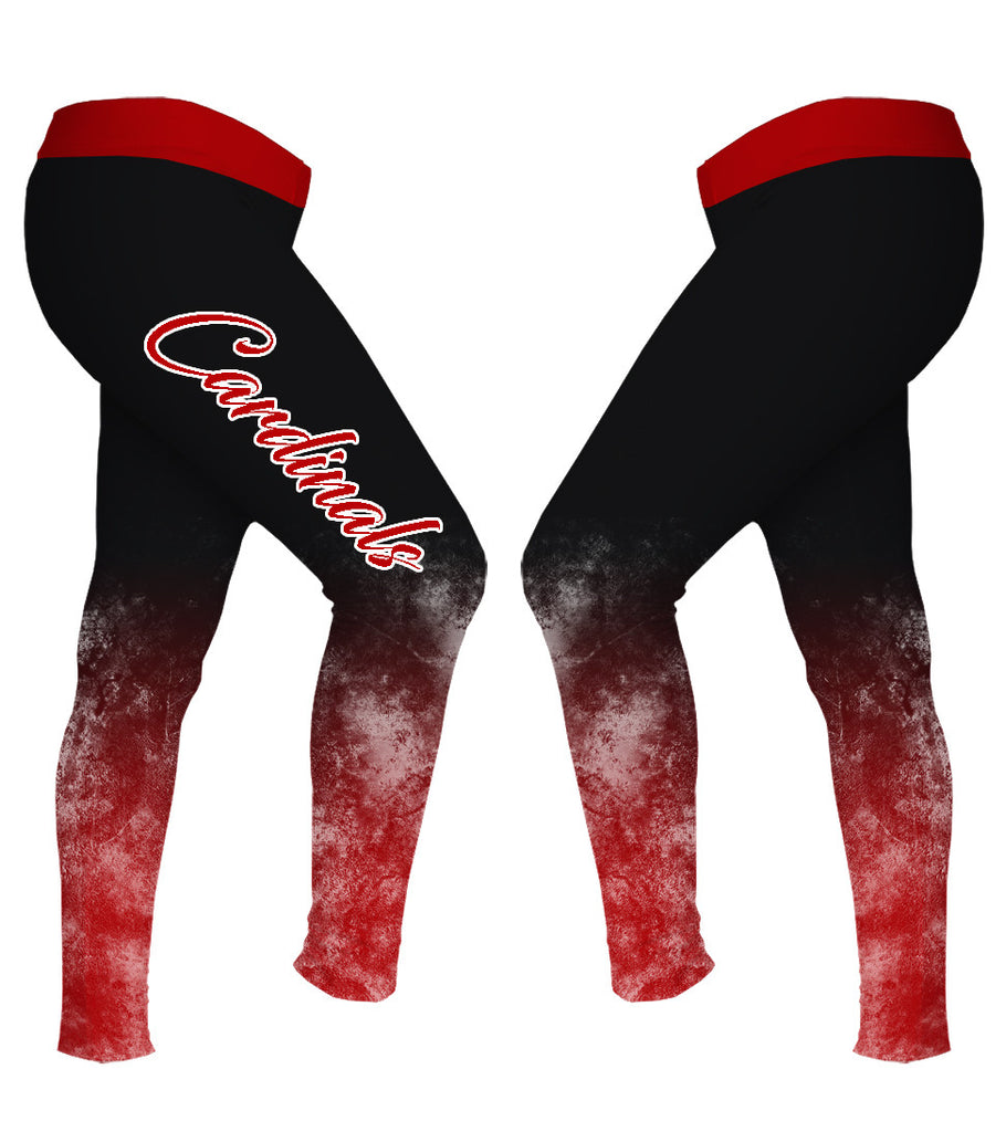 Ball State Women's Grunge Leggings