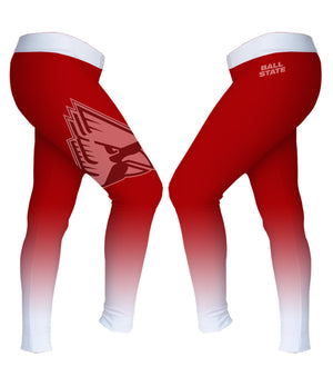 Ball State Women's Cardinal Leggings