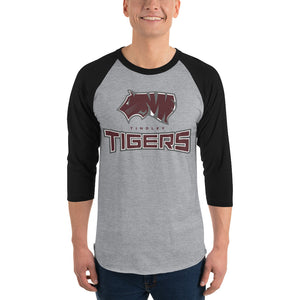 TT 3/4 sleeve raglan shirt