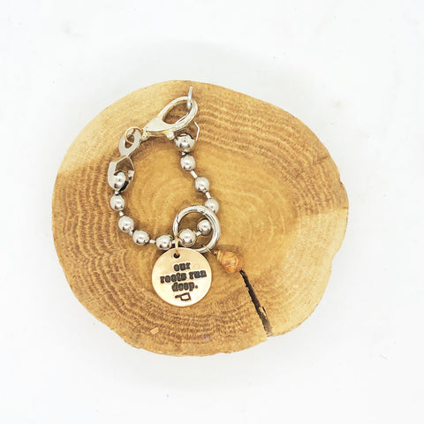 Chickeeboom Our Roots Run Deep Chunky Bracelet