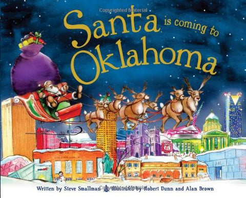 Santa is Coming to Oklahoma (Hardcover)