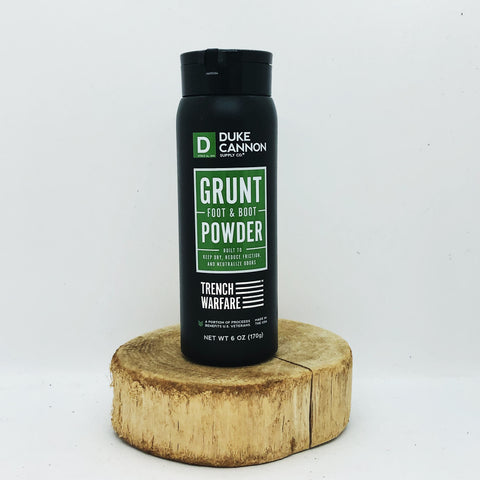 Duke Cannon Supply Co. Grunt Foot & Boot Powder