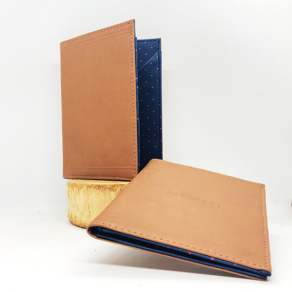 C.R. Gibson Leatherette Passport Cover