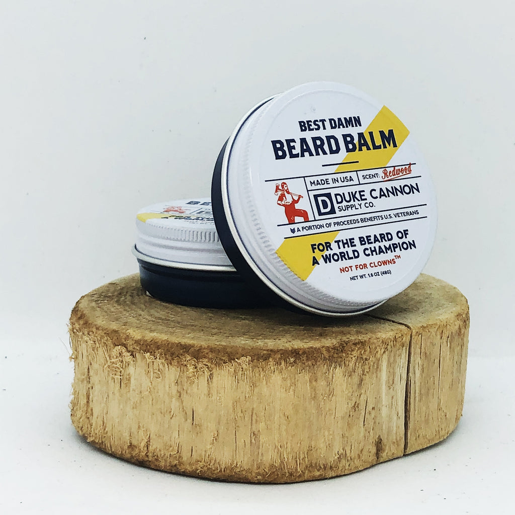 Duke Cannon Supply Co. Redwood Beard Balm