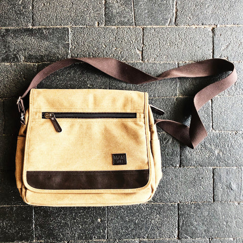 About Face Coffee Messenger Bag