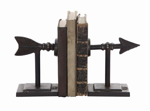 Cast Iron Arrow Bookend