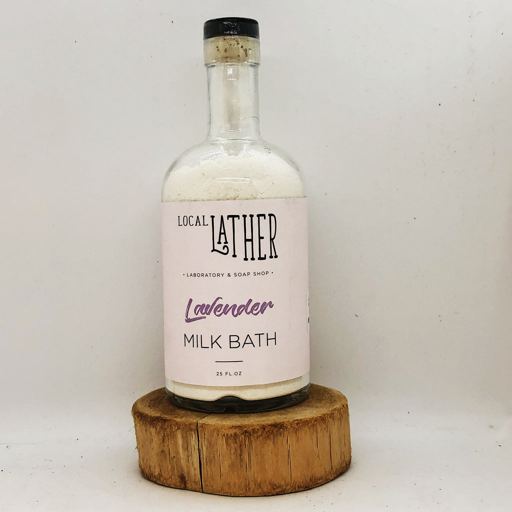 Local Lather Lavender Milk Bath